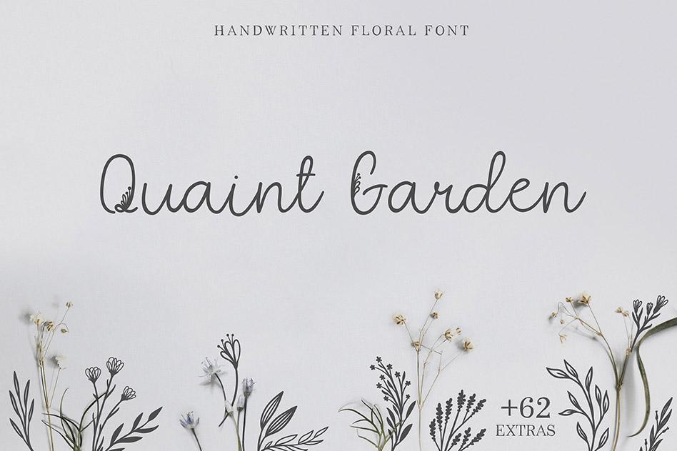 فونت Quaint Garden